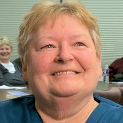 Lorraine (Ed's wife)